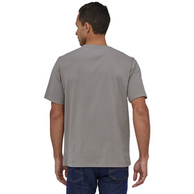 Patagonia Fitz Roy Bear Organic T-Shirt Men feather grey